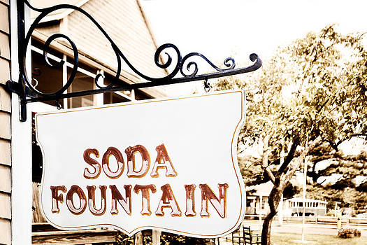Jo Ann Snover - Soda fountain sign