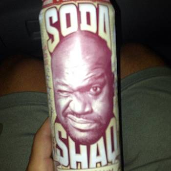 #soda #shaq #sodashaq by Ben Tesler