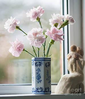Soft Focus Pink n Blue by Donald Davis