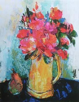 Soft Roses by Siang Hua Wang