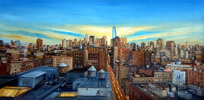 SOHO Rooftops by Leonardo Ruggieri