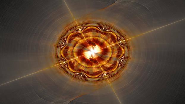 Solar Disc by Jeanne LeMieux
