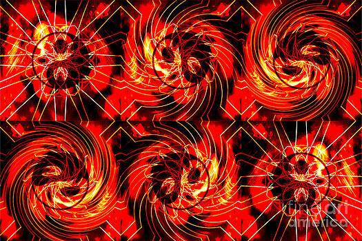 Daryl Macintyre - Solar Flare Sun Yin Yang