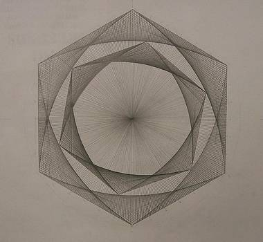 Solar spiraling by Jason Padgett