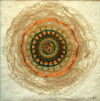 Solar symbol by Miki Tatulescu