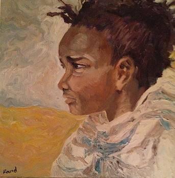 Sold/Children of the World B by Farid  Fakhriddin 30x30 cm