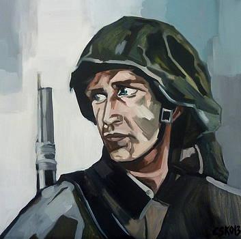 Soldier  by Carmen Stanescu Kutzelnig