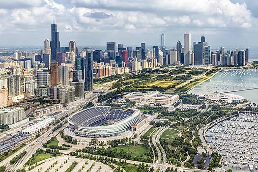 Adam Romanowicz - Soldier Field and Chicago Skyline