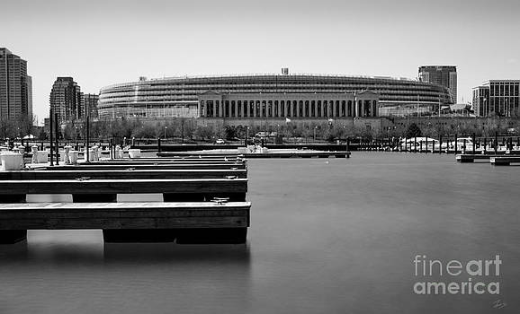 Soldier Field Marina by F Icarus