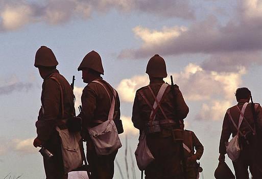 Stuart Brown - Soldiers after a battle # C