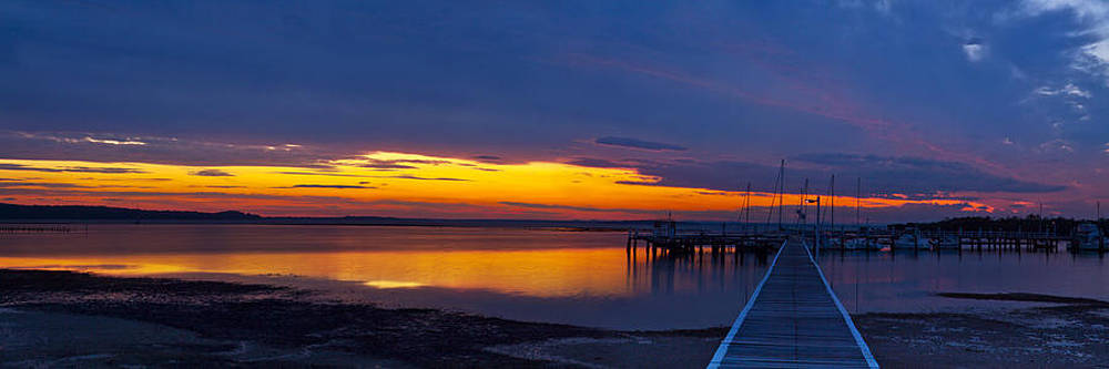 Soldiers Point Sunset by Rick Drent