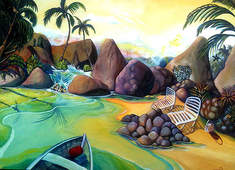 Patricia Lazaro - Solitary Tropical Beach