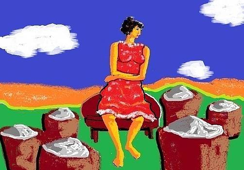 Solitary trader by Sivanu Bhatt