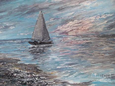 Solo Sail for Shells by Rhonda Lee