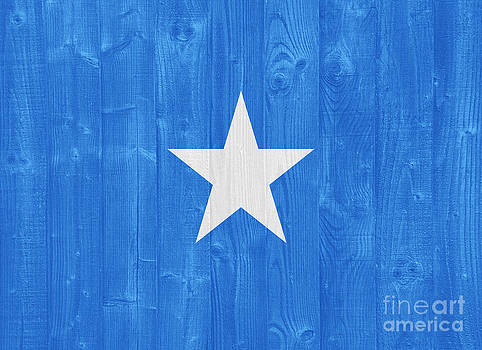 Somalia flag by Luis Alvarenga