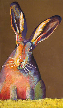 Some Bunnie on Grass by Holly Wright