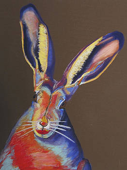 Some Bunnie with Lipstick by Holly Wright