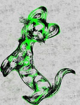 Some green marten by Dana Hermanova