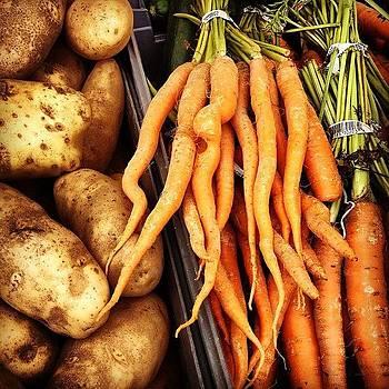 Some Root Veggies. #boston #haymarket by J Amadei