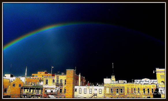 Somewhere Over Grand Rapids by Deb Badt-Covell