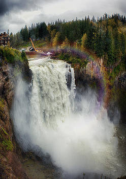 Somewhere Over the Falls by James Heckt