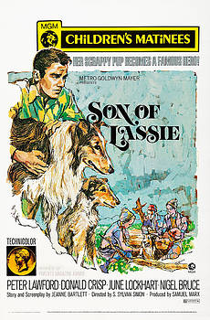 Son Of Lassie, Us Poster Art, Left by Everett