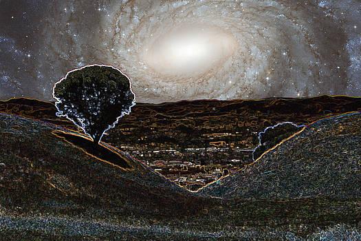 Sonoma Mountain Spiral by Nick Kanihan
