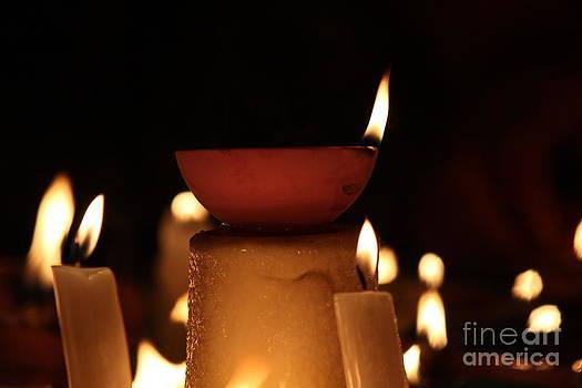 Soothing flames by Vikramjit Sra