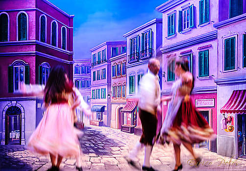 Enrico Pelos - Sorrento ballo tradizionale - traditional dance