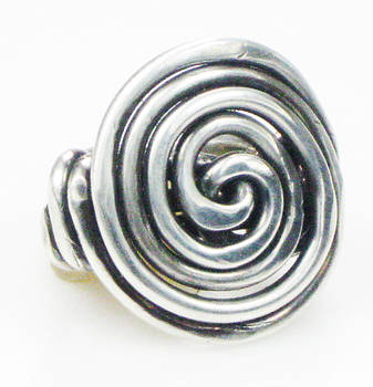 Soul Unfolding Sterling Silver Ring by Vagabond Folk Art - Virginia Vivier