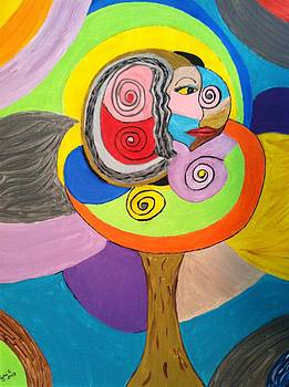 Soulful Tree I by Julie Crisan