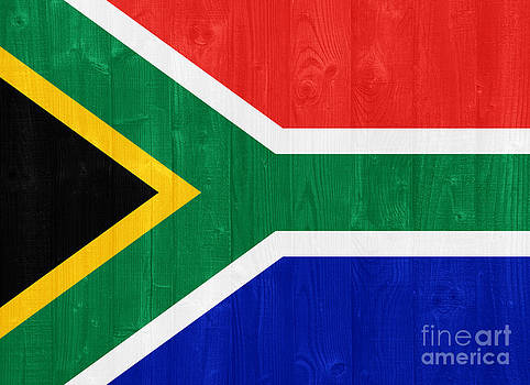 South Africa flag by Luis Alvarenga