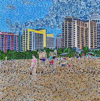 South Beach - Miami by Micah Mullen