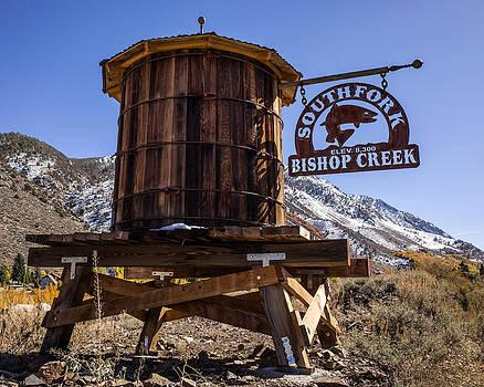 Priya Ghose - South Fork Bishop Creek Sign