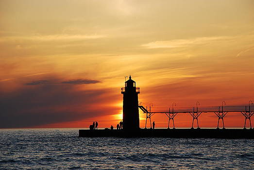 South Haven Sunset by Andrew Barker