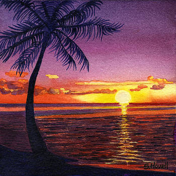 South Pacific Sunset by Sandi Howell