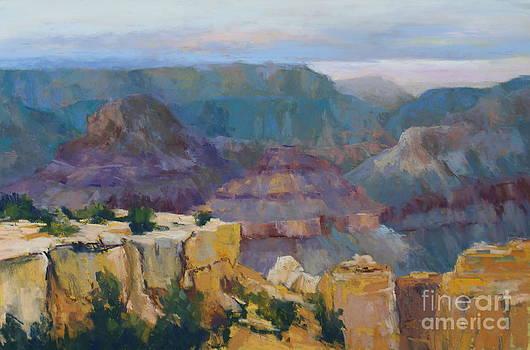 South Rim Outlook  by Virginia Dauth