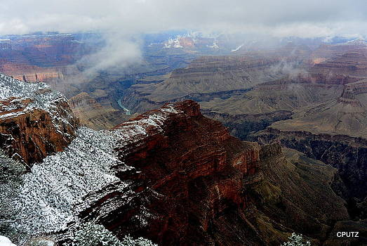 South Rim Snow by Carrie Putz