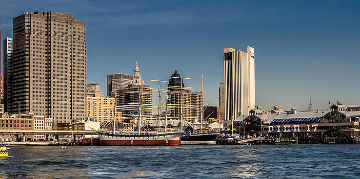 South Street Seaport by David Hahn