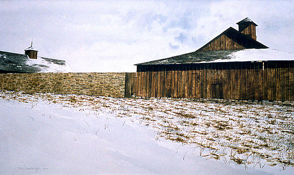 South Wall  by Tom Wooldridge