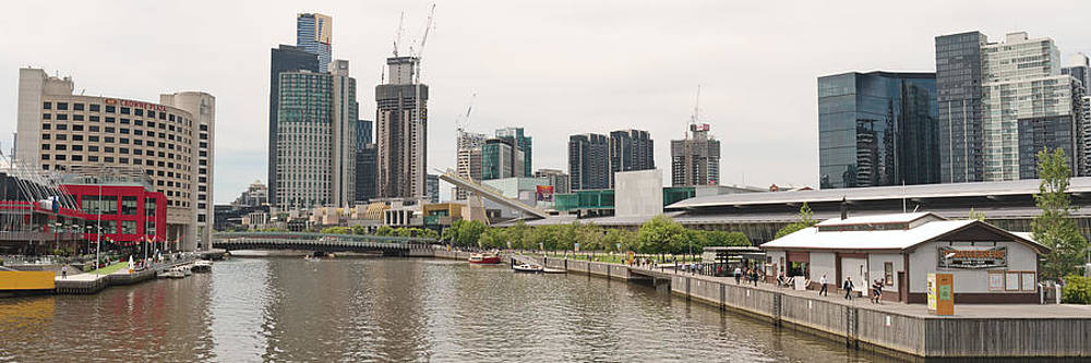 Southbank panorama on Yarra by View Factor Images