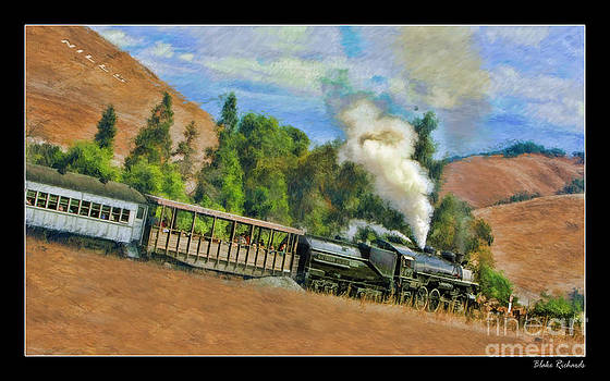 Blake Richards - Southern Pacific 2472 Steam Engine leaving Niles