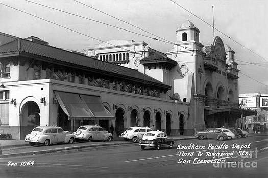 California Views Mr Pat Hathaway Archives - Southern Pacific Depot at 3rd and Townsend San Francisco circa 1945