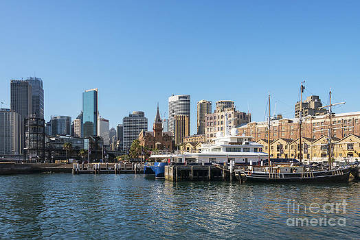Bob Phillips - Southern Swan in Darling Harbour