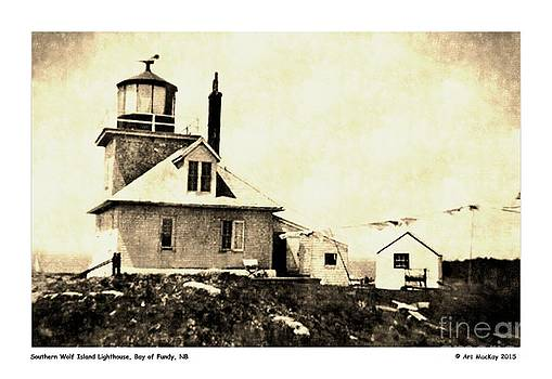 Art  MacKay - Southern Wolf Island Lighthouse