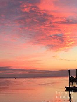 Southport Sunset by Ann Money