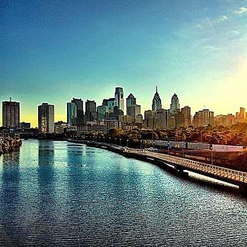 #southstreetbridge Mornings On by Dan  Diamond