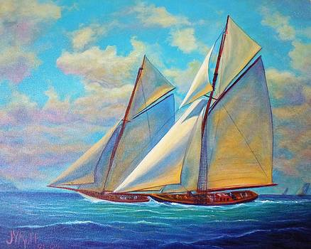 Southward Sail by Joseph   Ruff