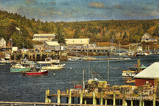 Southwest Harbor by Cindi Ressler