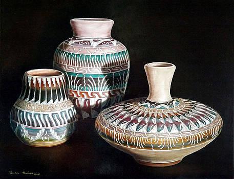 Southwest Pottery by Linda Becker